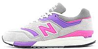 Женские кроссовки United Arrows x New Balance 997.5 (Нью Баланс) серые