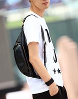 Мужская кожаная сумка. Модель 61372, фото 5