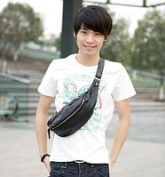 Мужская кожаная сумка. Модель 61372, фото 7