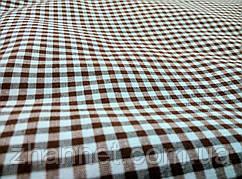 Ткань в клетку Ibiza коричневый