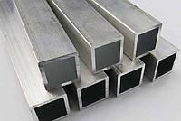Труба  алюминиевая квадратная  50х50 мм 6060 Т6, фото 2