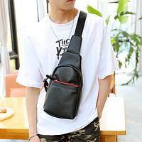Мужская кожаная сумка. Модель 61374, фото 4