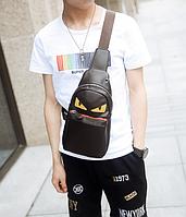 Мужская кожаная сумка. Модель 61374, фото 6