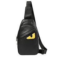 Мужская кожаная сумка. Модель 61374, фото 9