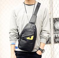 Мужская кожаная сумка. Модель 61374, фото 7
