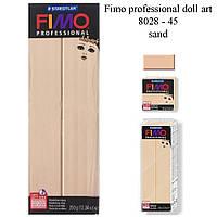 Fimo Professional Doll Art Sand 350г, №45, Фимо Долл Арт Песочный, полимерная глина для кукол
