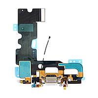 Шлейф с разъемами зарядки для iPhone 7 (4.7), цвет белый