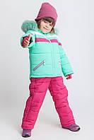 Зимний комбинезон для девочки KD-1 мята