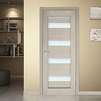 Двери межкомнатные Грация полотно остекленное сосна карелия, фото 1