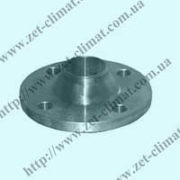 Фланец стальной воротниковый Ру 25 ду 15 - ду 600 кованный приварной 12821-80