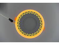 Cветильник светодиодный  двухцветный TWO COLOR PANEL 6+3 Вт  белый + желтый