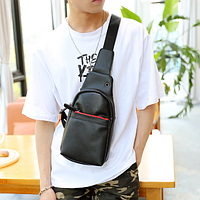 Мужская кожаная сумка. Модель 61374, фото 2