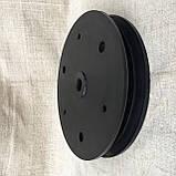 """Напівдиск прикотуючого колеса (диск поліамід) 2""""x13"""" d30, N282882, фото 3"""