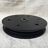 """Напівдиск прикотуючого колеса (диск поліамід) 2""""x13"""" d40, 817-296C, фото 3"""