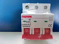Автоматичний вимикач 32А трохполюсний