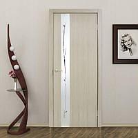 Двери межкомнатные Зеркало 1.1 сосна карелия