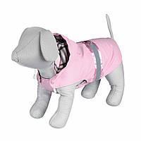 Пальто Trixie Como Coat для собак розовое, с пайетками