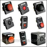 Пост кнопочный ПКЕ 222-3(грибковая), фото 2