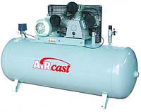 Компрессор поршневой с горизонтальным ресивером Aircast СБ4/Ф-500.LB75 (Беларусь)