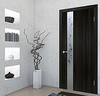 Двери межкомнатные Зеркало 2 венге