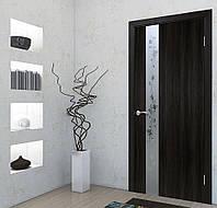 Двери межкомнатные Зеркало 2 венге, фото 1