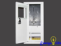 Шкаф монтажный распределительный ШМР-1Ф-7Н, навесной, для 1ф счетчиков