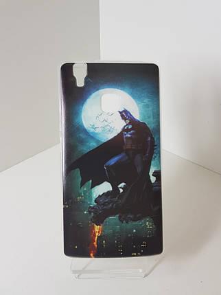 """Силиконовый чехол - бампер на Doogee X5 Max """"Бетмен"""", фото 2"""