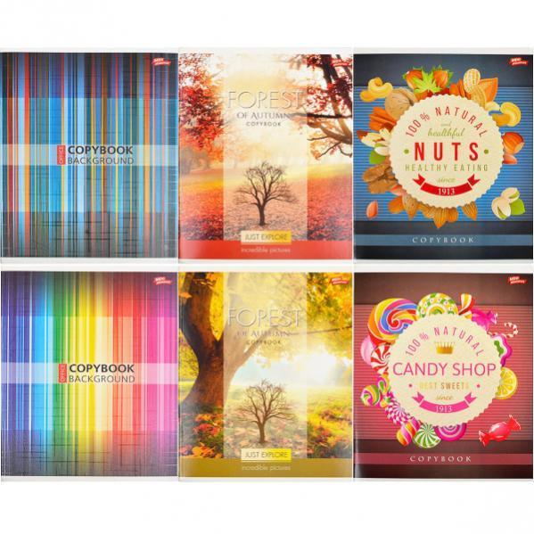 Тетрадь цветная 60 листов, линия «Мрії» «mix» C60Л