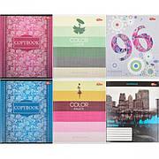 Тетрадь цветная 96 листов, линия «Мрії» «mix» C96Л
