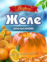 "Желе апельсиновое на желатине 80 г  ТМ ""Впрок"""