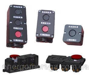 Пост кнопочный ПКЕ 712-2, фото 2
