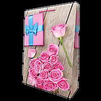 Пакет подарунковий №10 (ВЕРТИКАЛЬНИЙ)(480Х340Х120) від 10 шт., фото 1