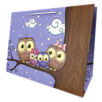 Пакет подарочный №10 (ГОРИЗОНТАЛЬНЫЙ)(330Х440Х210) от 10 шт., фото 1
