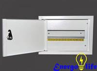 Шкаф монтажный ШМР-12Н на 12 модулей внешний, для монтажа электрооборудования