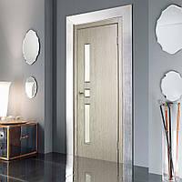 Двери межкомнатные Комфорт полотно остекленное сосна карелия