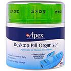 Органайзер для таблеток на 7 дней (салатовый), фото 2