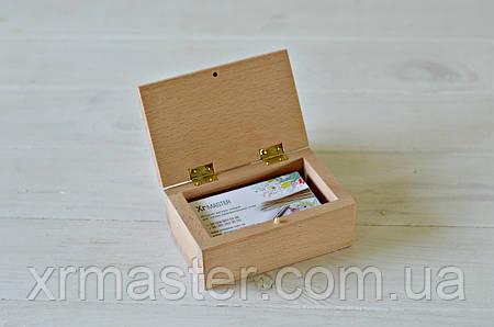 Футляр для визиток или карт 120*80 мм