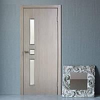 Двери межкомнатные Комфорт полотно остекленное сосна мадейра