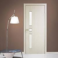 Двери межкомнатные Комфорт полотно остекленное сосна сицилия