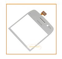 Сенсор (тачскрин) Nokia  E6 White Original
