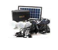 Набор ламп с солнечной батареей GDLITE GD-8006-A