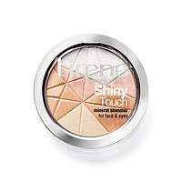 Минеральная пудра Lirene Shiny Touch для лица и глаз сияние