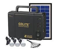Набор ламп с солнечной батареей GDLITE GD-8006-A.