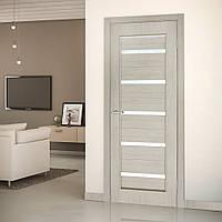 Двери межкомнатные Милена полотно остекленное сосна карелия, фото 1
