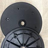 """Напівдиск прикотуючого колеса (диск поліпропілен) 1""""x12"""" N2882781, фото 4"""