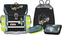 Ранец ортопедический McNeill для мальчиков HALFPIPE Fashion-Line (4 предмета) 9611156000