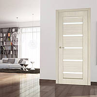 Двери межкомнатные Милена полотно остекленное сосна сицилия, фото 1