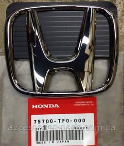 Эмблема в решетку радиатора Honda Civic Sedan Новая Оригинальная