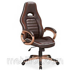 Крісло Q-150 офісне Коричневе