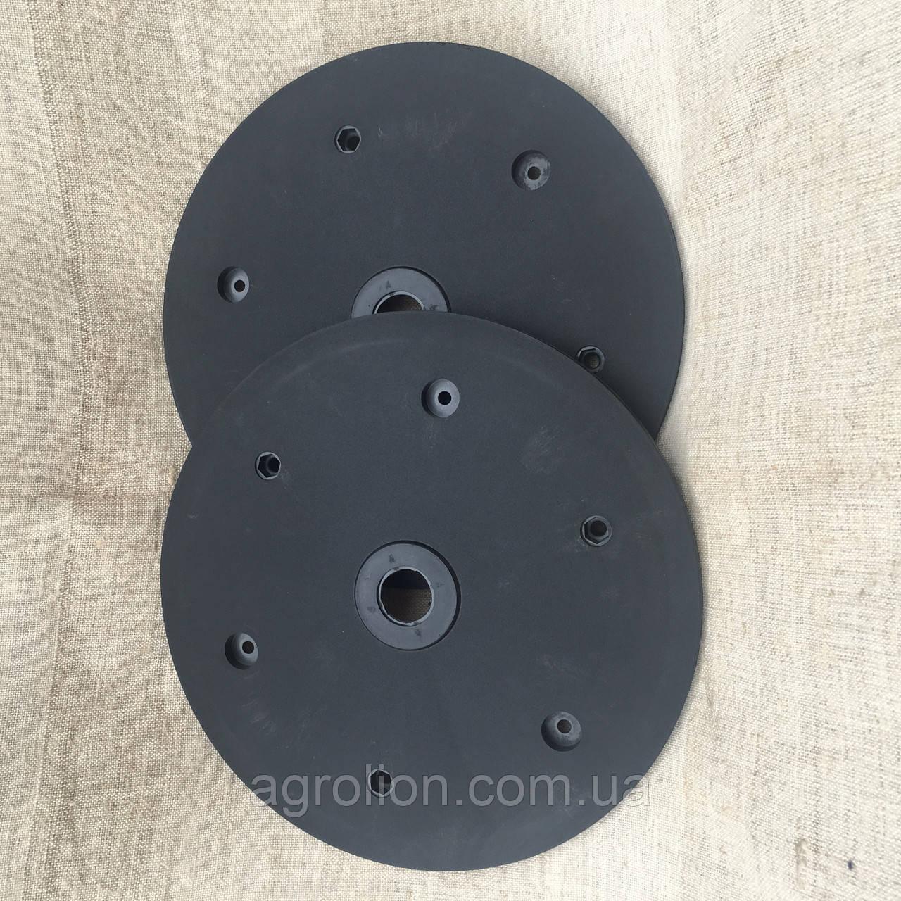 """Напівдиск прикотуючого колеса (диск поліпропілен) 1""""x12"""" d40, Gaspardo, F061120257"""